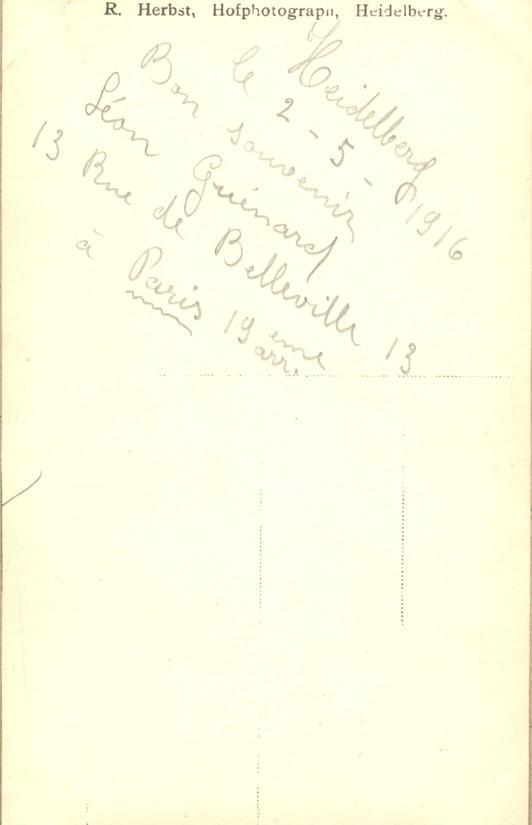 Memory book, phototgraph, page 32 (back)