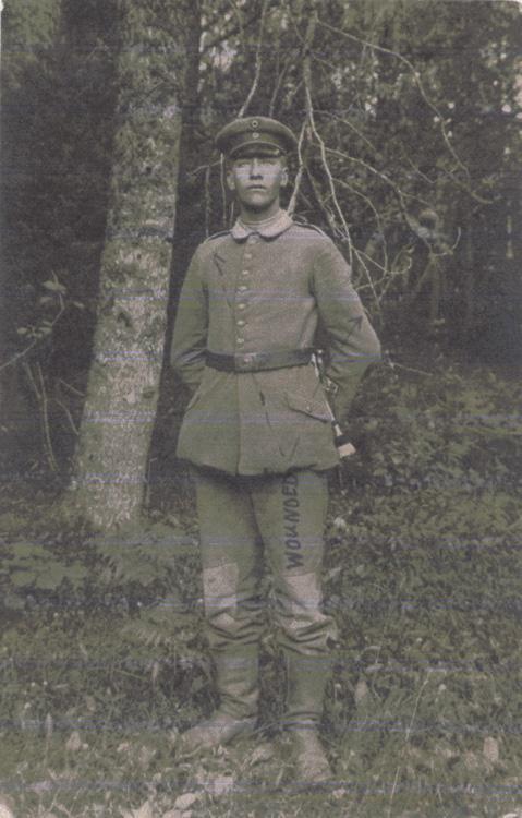 Norris, Louis. April 13, 1917. Front Photograph.