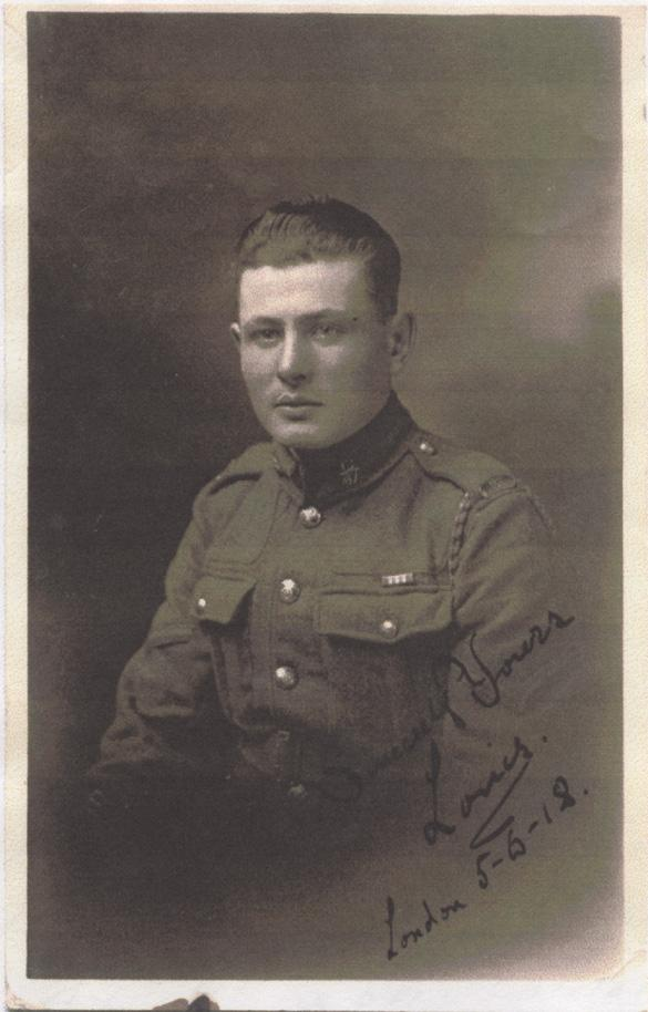 Norris, Louis. June 5, 1918. Second Photograph.