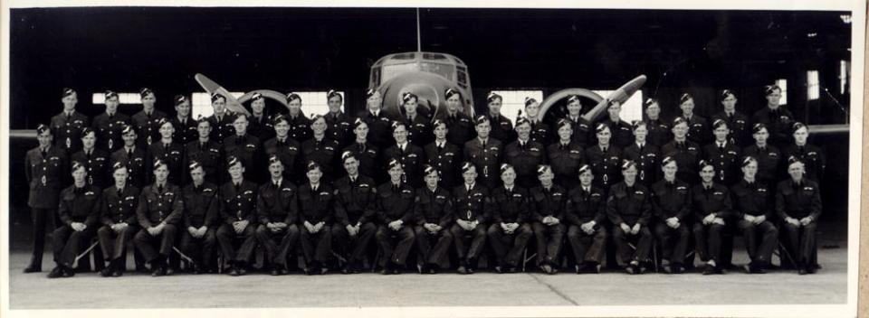 Flying School, April, 1942, front.