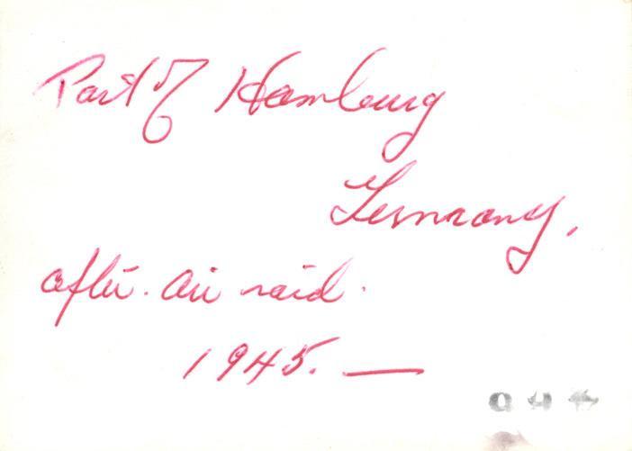 Hamburg 1945 - back