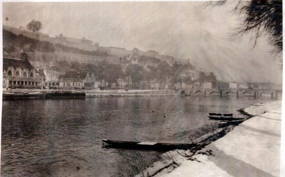 Namur Citadel and River, Belgium.