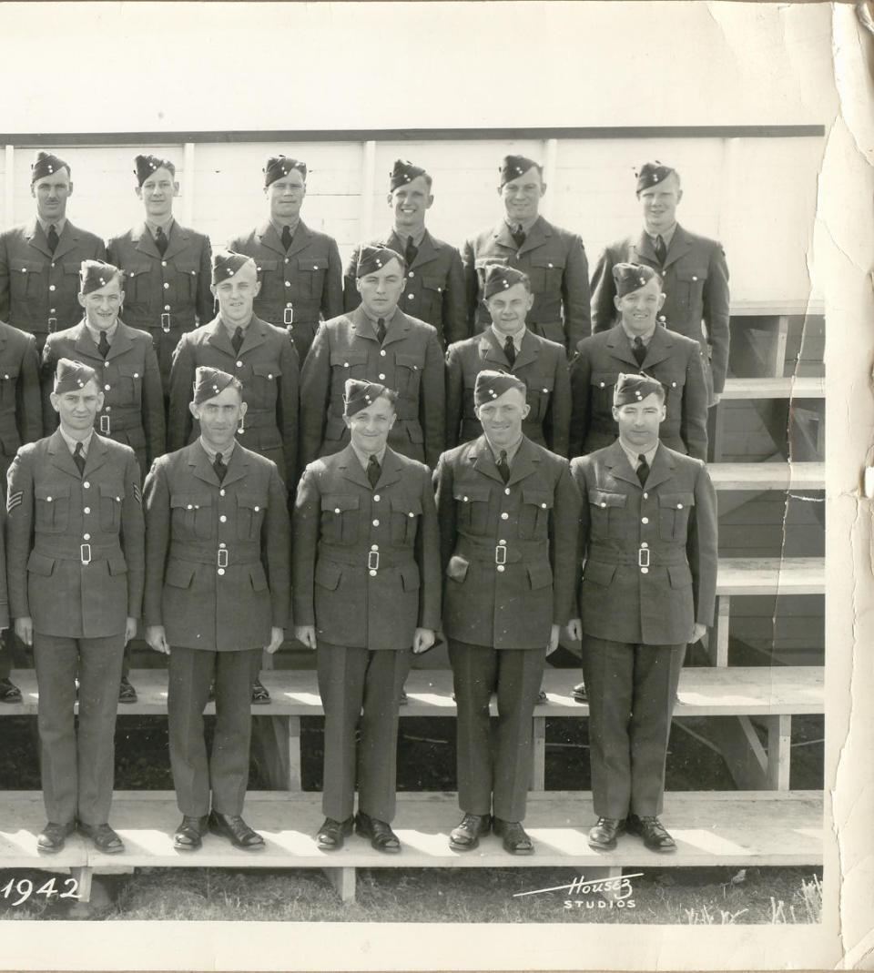 Flight Training, Manning Depot, March, 1942, right side