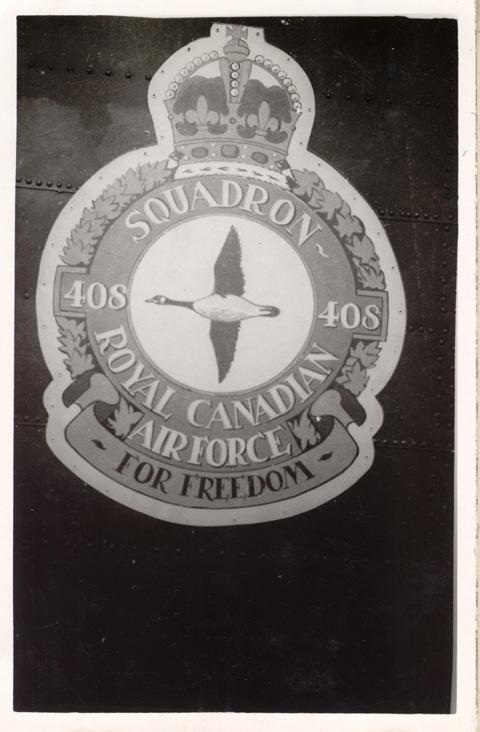 Goose Squadron emblem.
