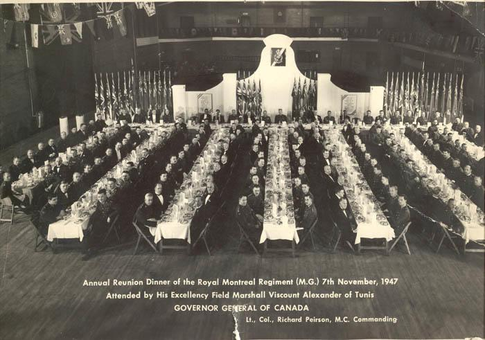 November 7, 1947 - Royal Montreal Regiment Annual Reunion