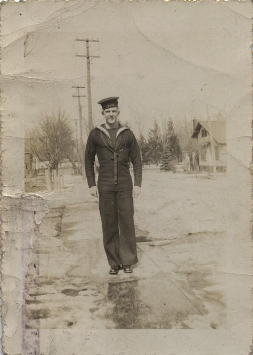 Pinder. Naval uniform. March 13 1943
