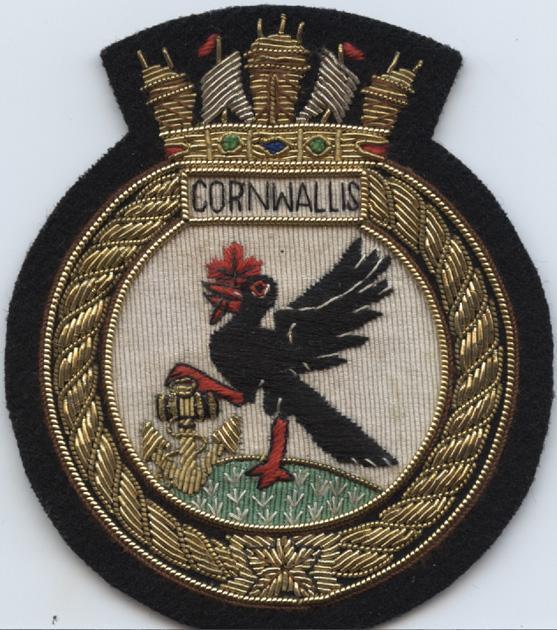 Pinder. Crest. Cornwallis. nd