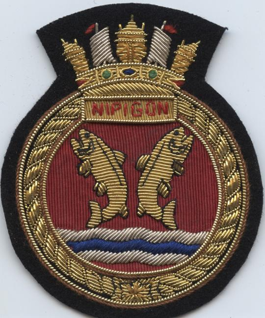 Pinder. crest. Nipigon