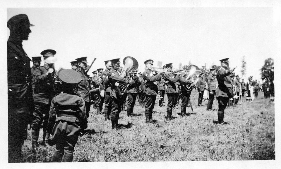 135th Battalion band